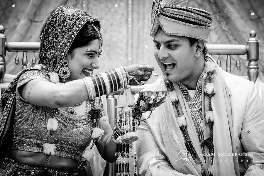 Asian Wedding Photographer young couple during asian wedding ceremony