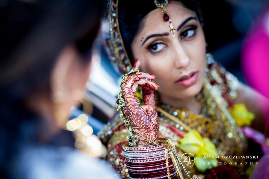 photography of asian bride Nima