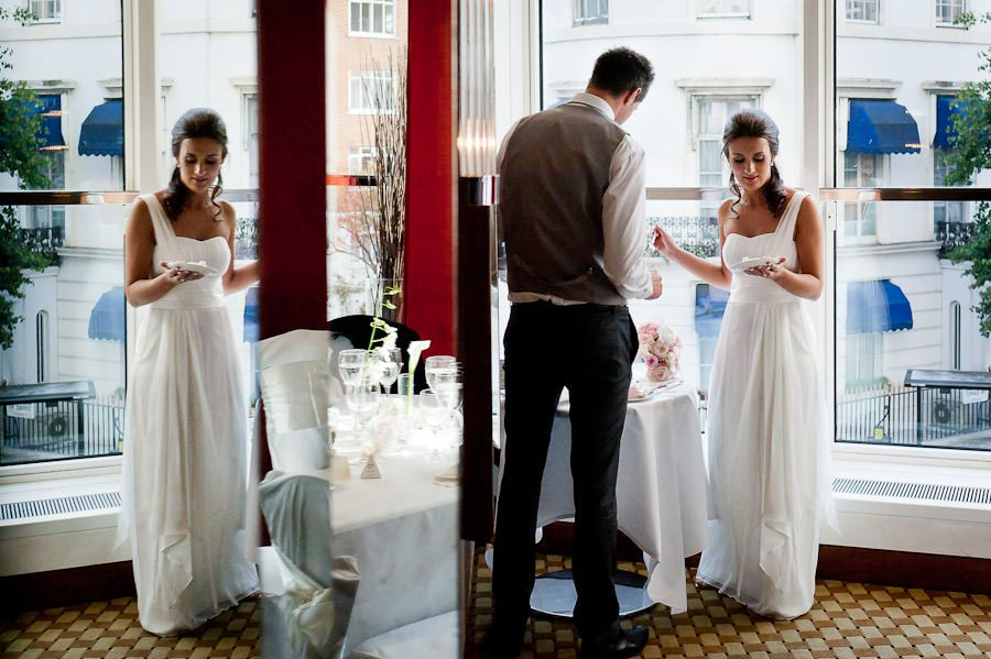 married couple in london hotel
