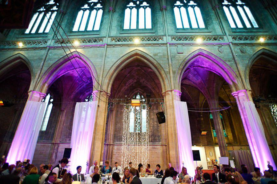 wedding in landmark arts centre in teddington