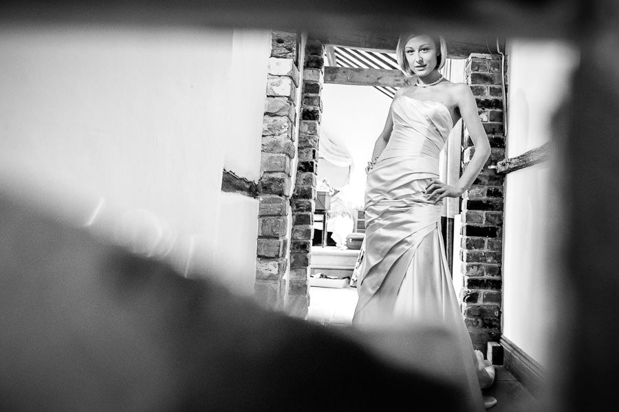 brides Nicola portrait in hampshire