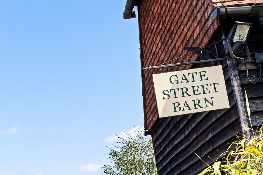 Gate Street Barn in Surrey logo