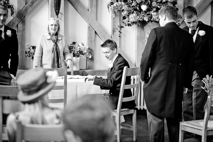 Gate Street Barn in surrey as the wedding place