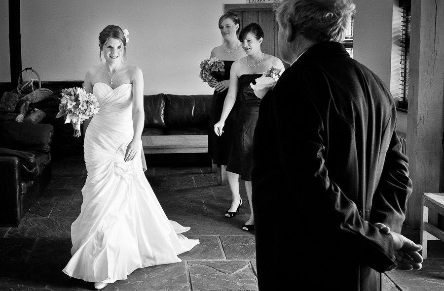bride kristen at the wedding