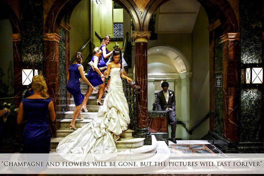 london wedding photography from the mandarin hotel