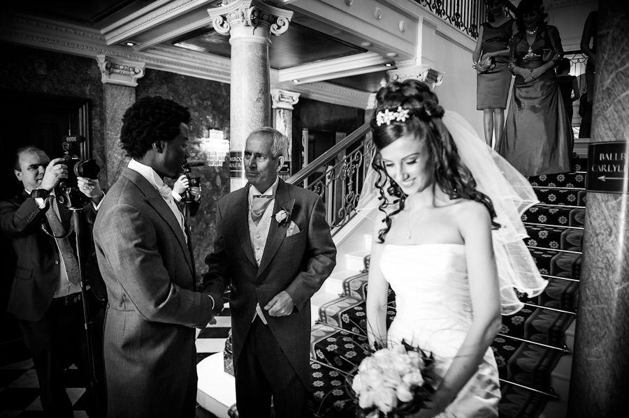 bride cey in the mandarin oriental hotel london