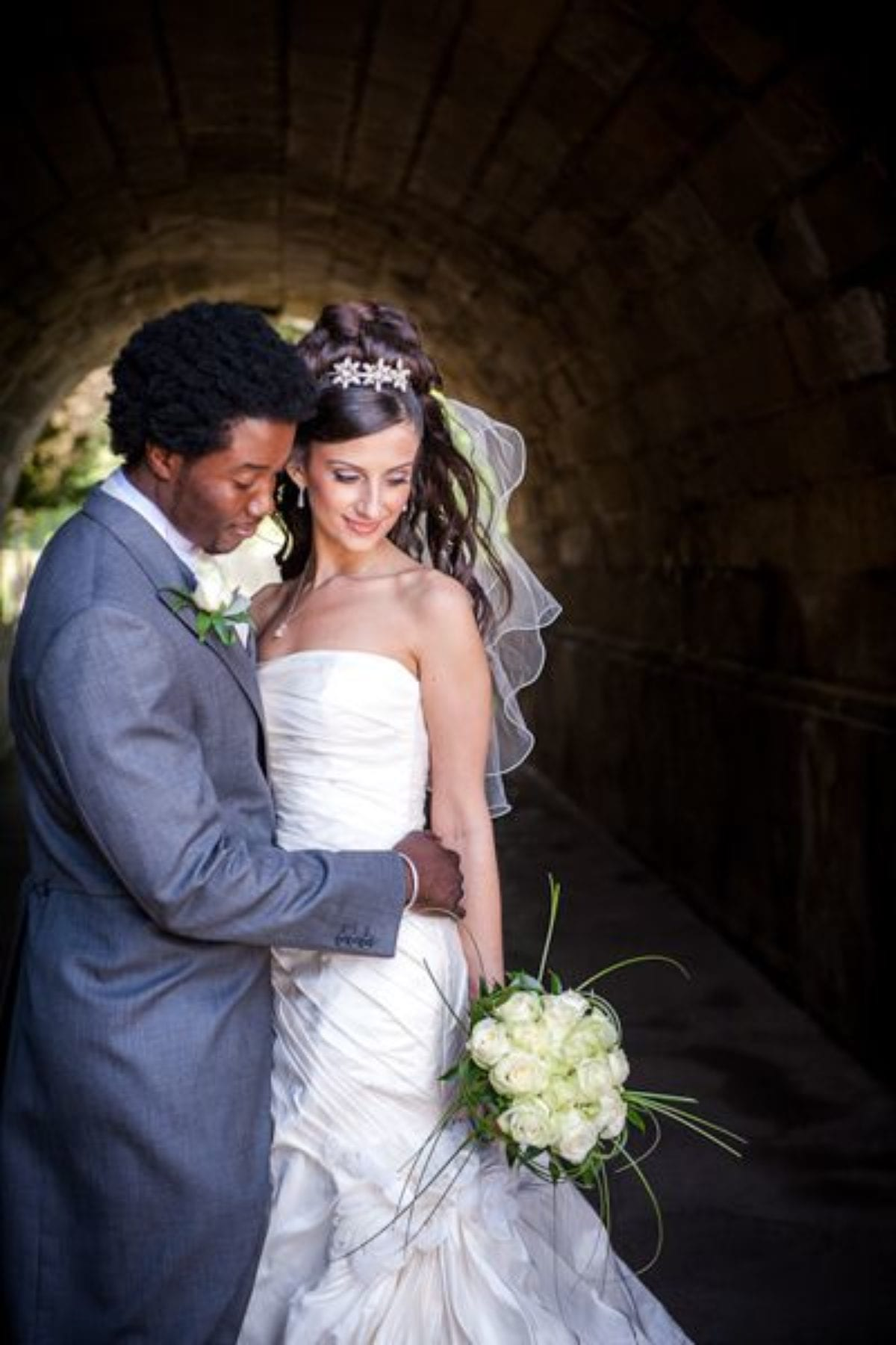couple cey and hassan on the london wedding session