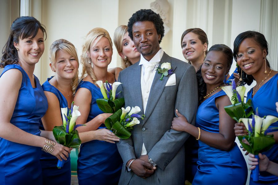 hassan at his wedding party