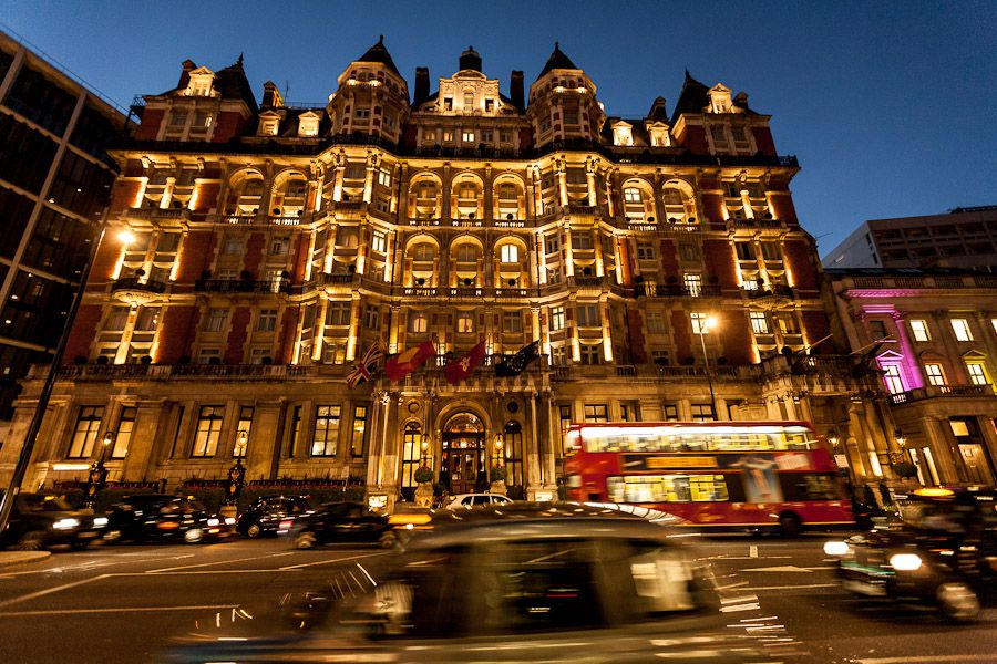 mandarin oriental hotel london photography