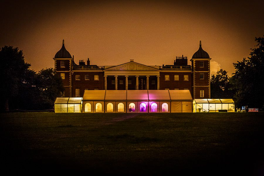 osterley park house at night