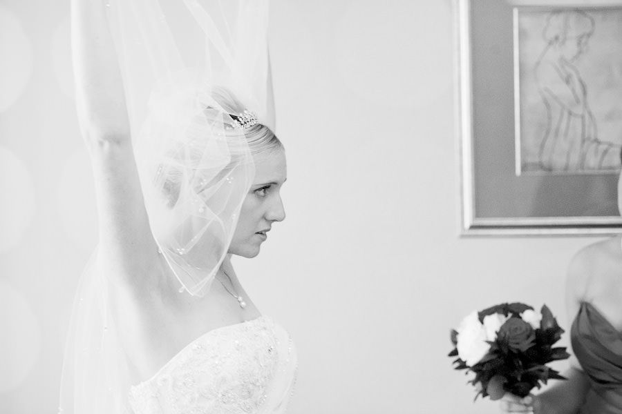 portrait of bride Emma before the ceremony
