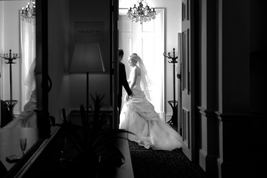 wedding photo session in taplow house hotel