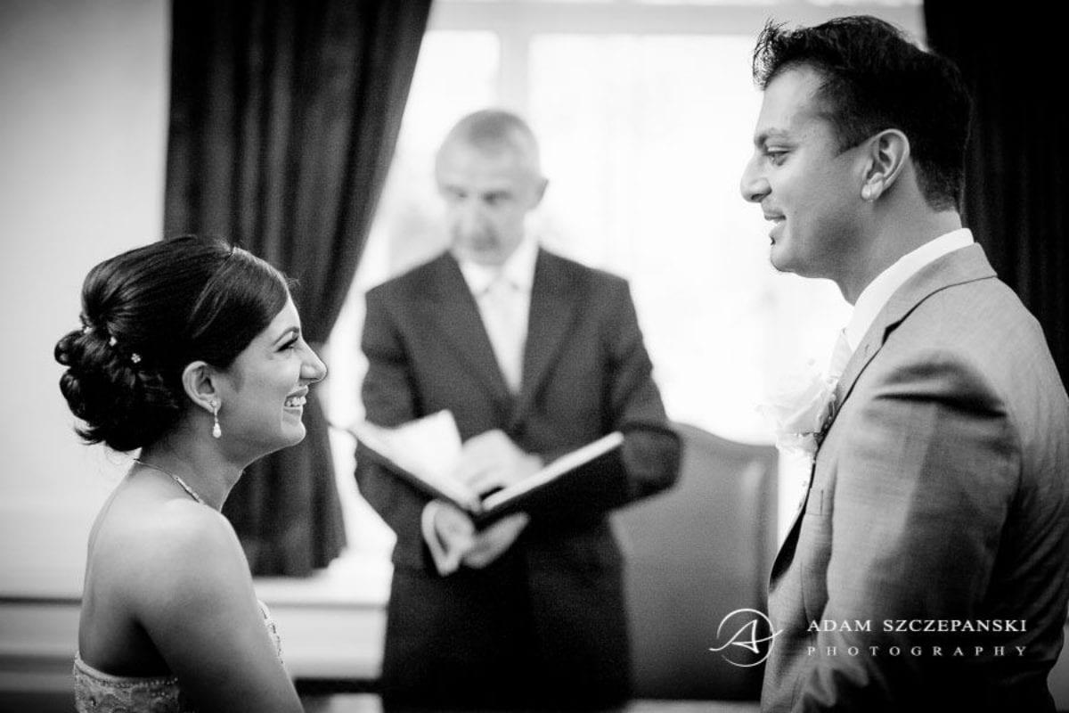 Wandsworth Town Hall Wedding Photographer wedding oaths of nima and karan