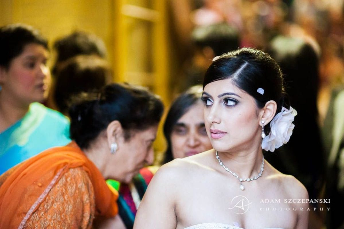 Wandsworth Town Hall Wedding Photographer mesmerizing eyes of the bride nima