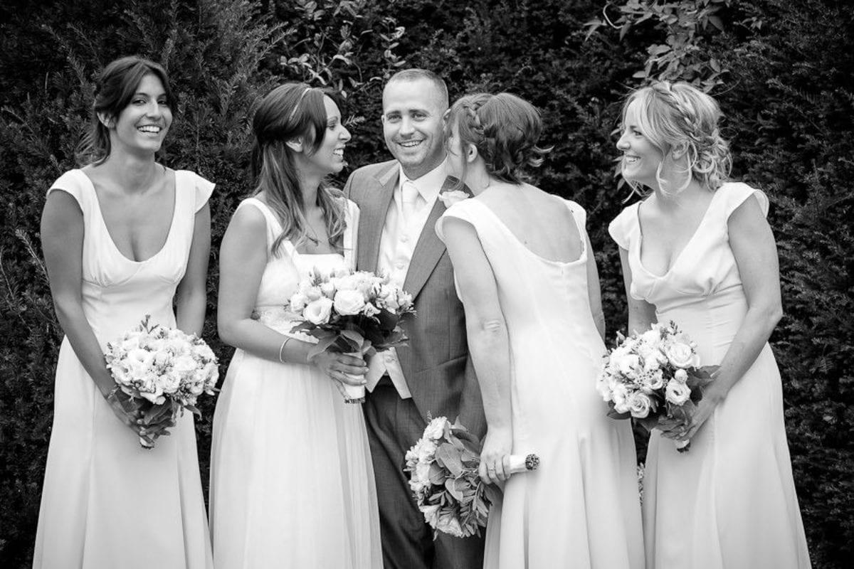 natural wedding photo session