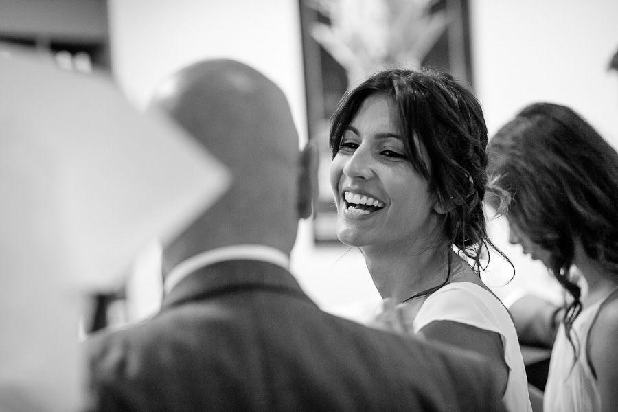 picture od the happy bride