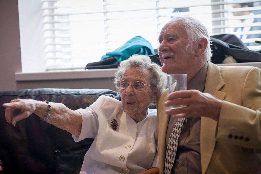 wedding photo of the grandparents