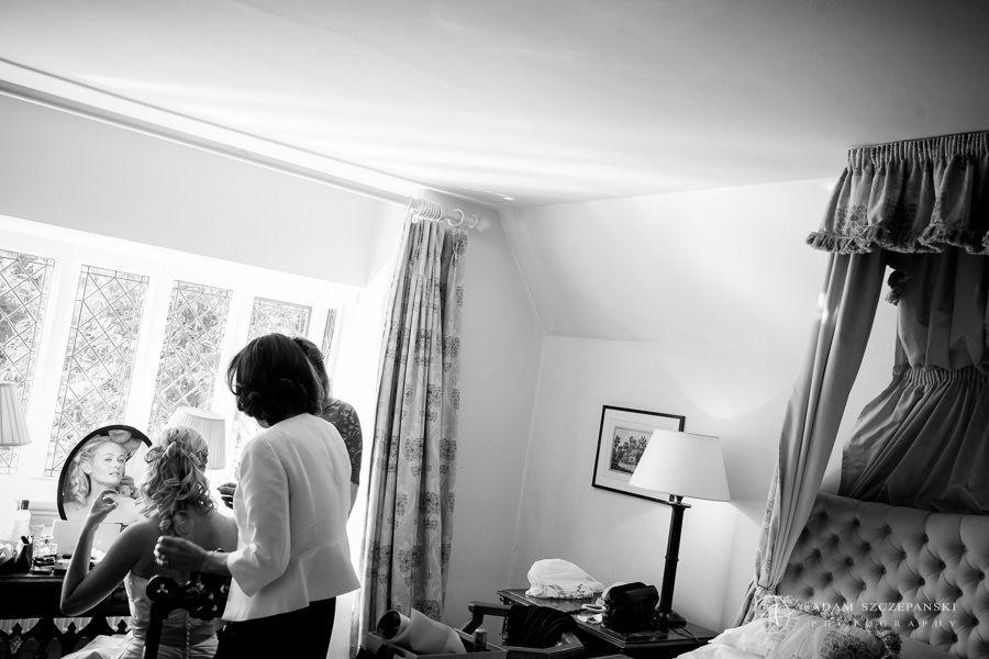 last wedding preparations of the bride