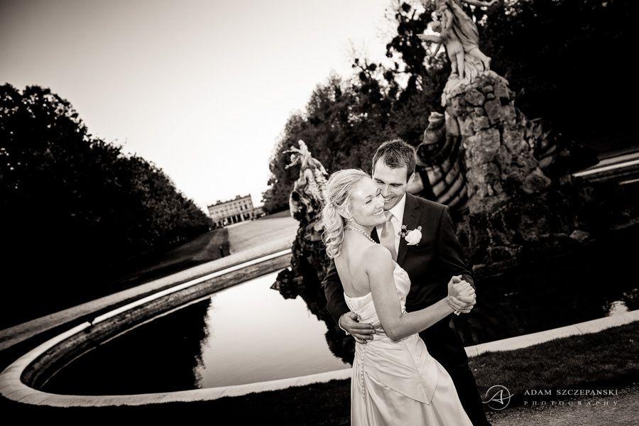wedding portrait of caroline and daniel