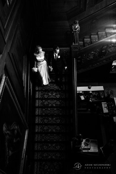 wedding photo session in cliveden house hotel
