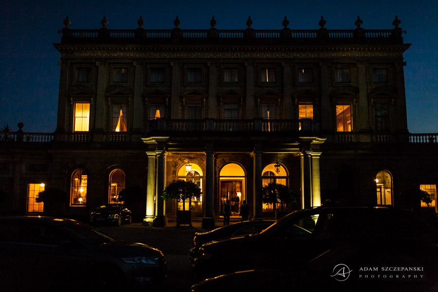 cliveden house hotel by night