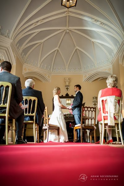 picture of the wedding ceremony