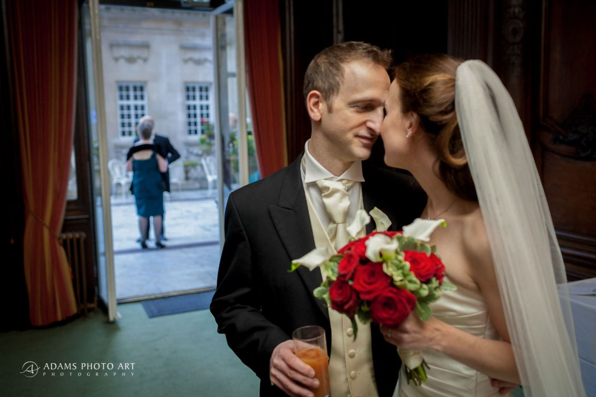 photo portrait of the married couple rebeca and duncan