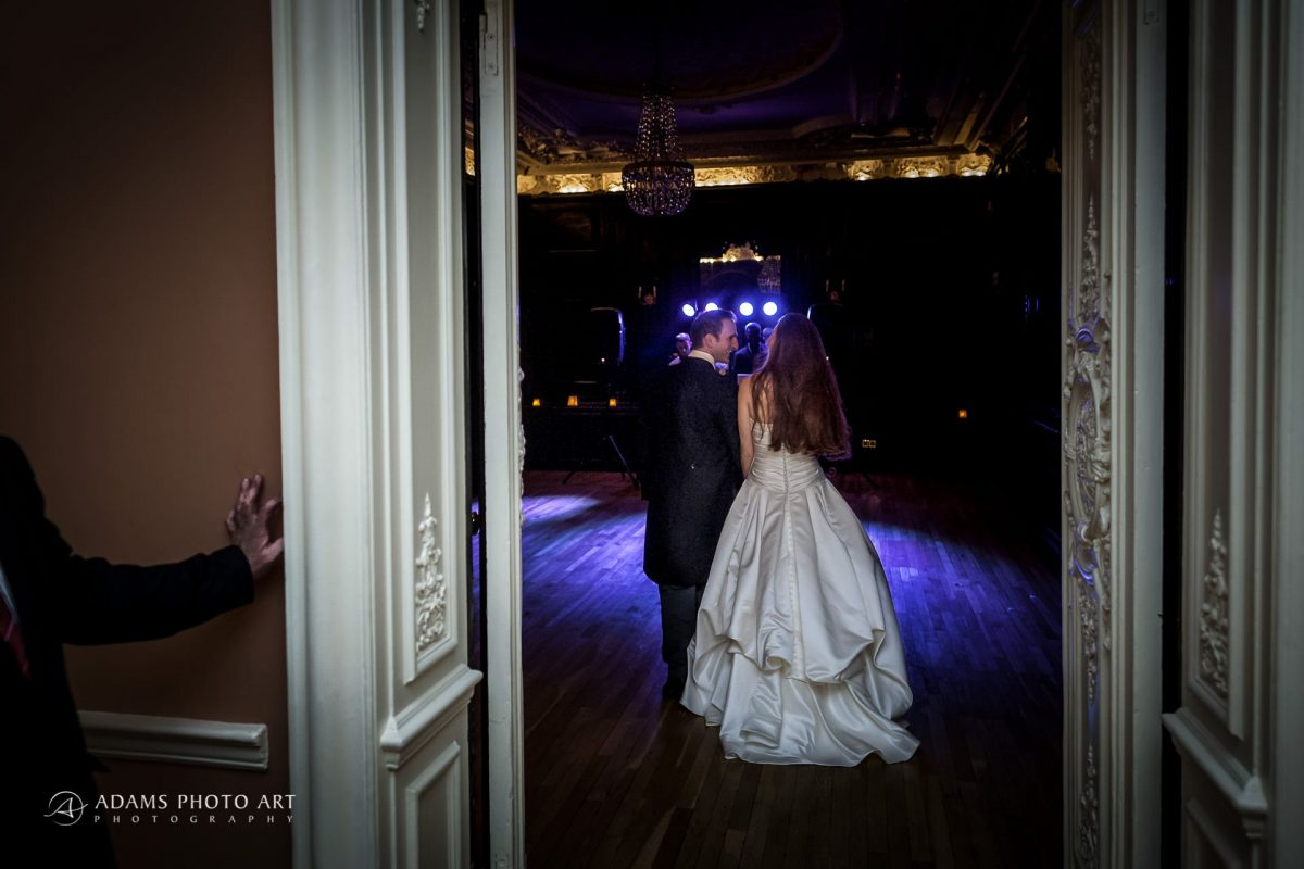 wedding photography of the married couple in documentary style