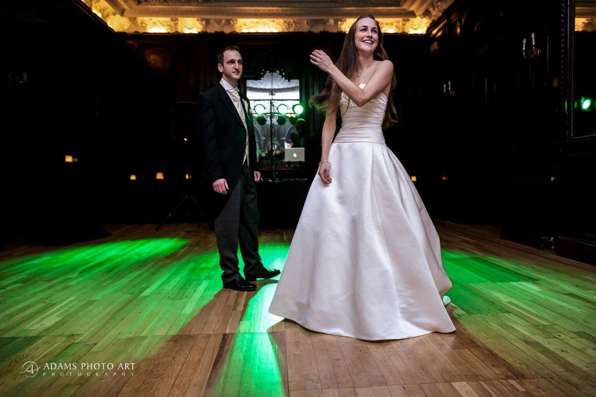 married couple on the dance floor