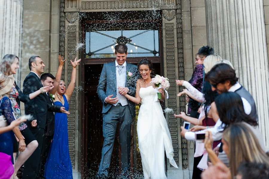 just married in london