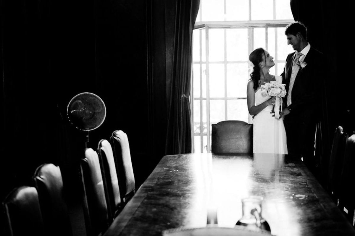 black and white photo session of the married couple natalie and marcello