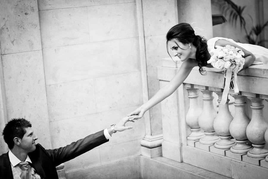 part of the wedding photo session in london