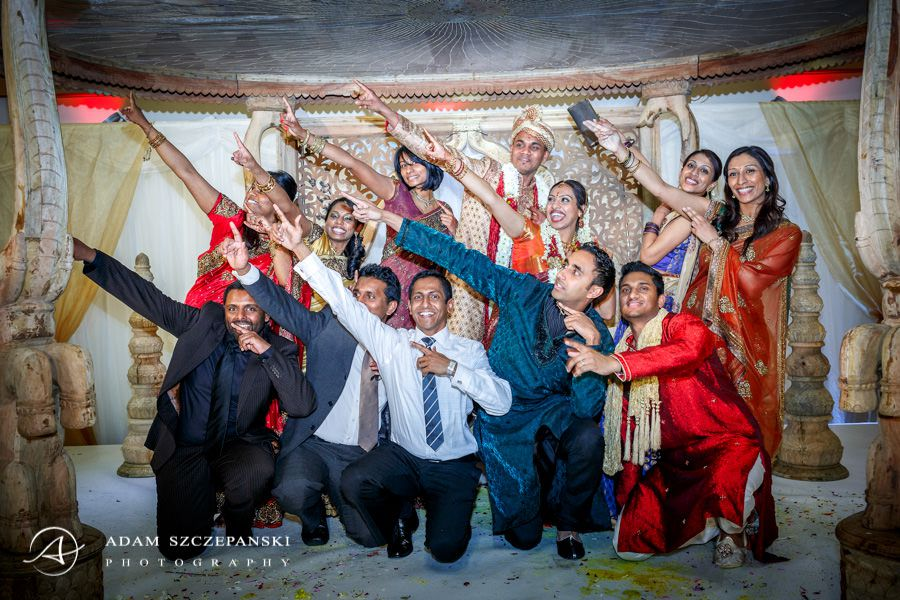 asian wedding of manga and thars
