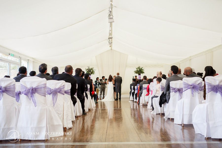wedding time in the painshill park surrey