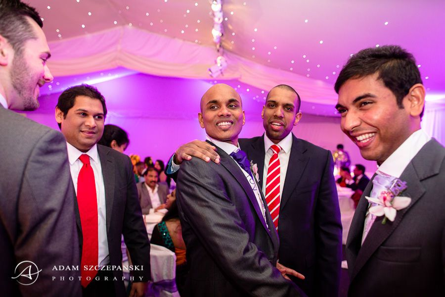asian wedding in the painshill park
