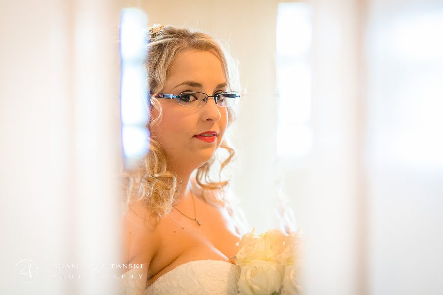 portrait of the bride sam