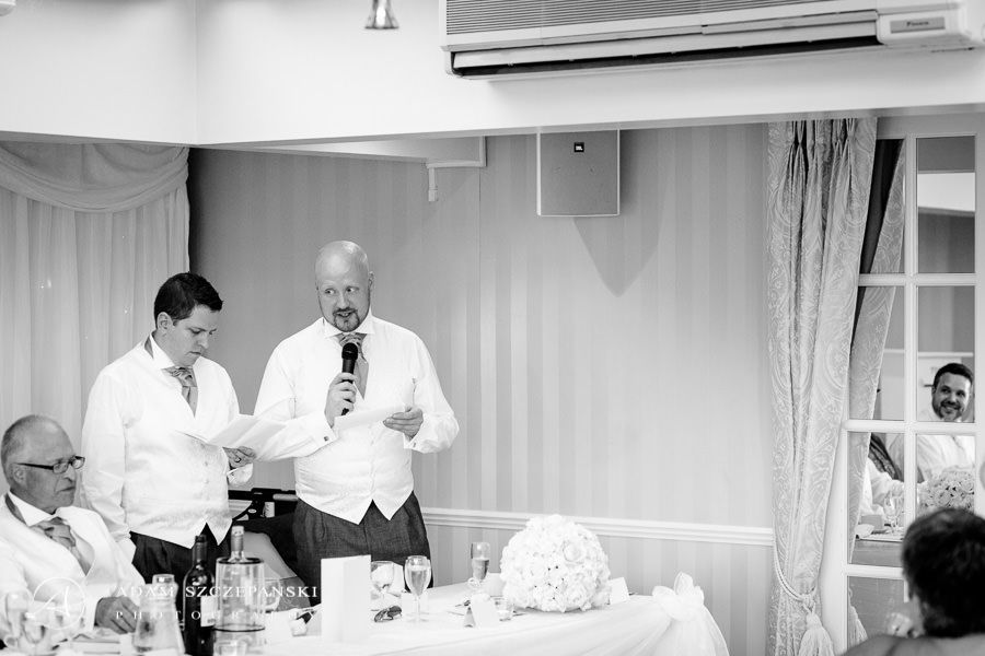 wedding speech at the beginning of the party