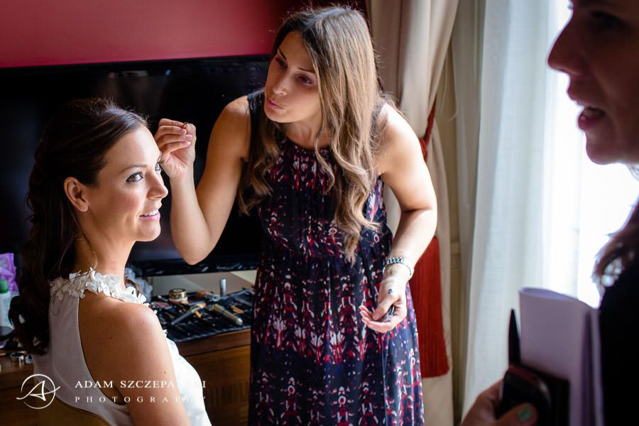 bride ann wedding preparations