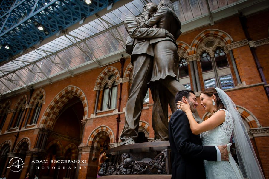 ann and nimanja the wedding photo session on the streets of london