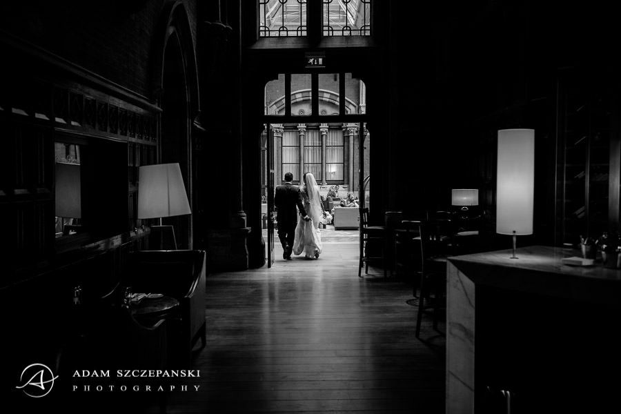 black and white wedding photography in london