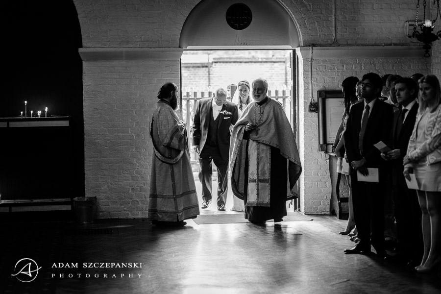 inside the serbian church in london