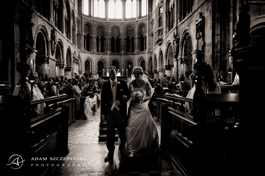 married couple in one of the londons churches