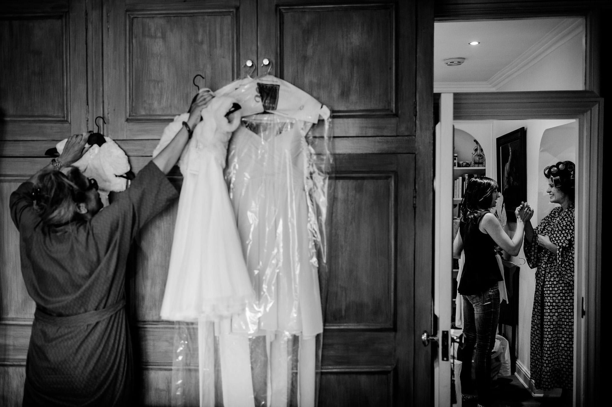 St. Pancras Renaissance hotel wedding bride in the room