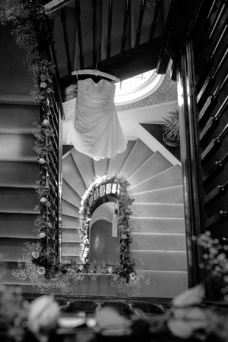 St. Pancras Renaissance hotel wedding dress