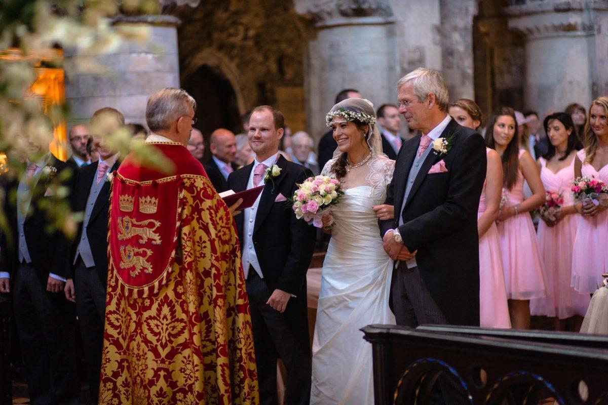 St. Pancras Renaissance hotel wedding ceremony starts