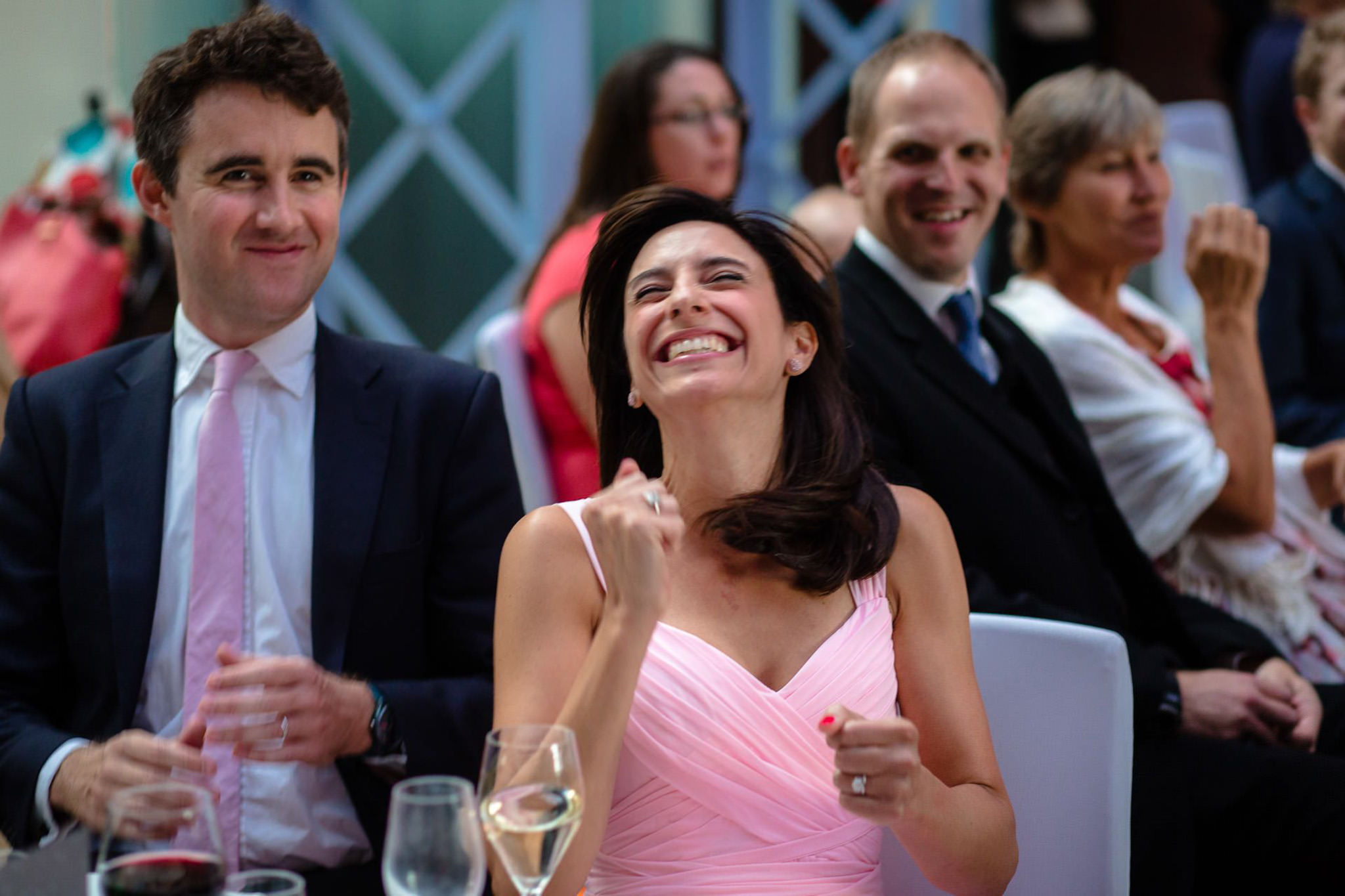 St. Pancras hotel wedding guests reaction