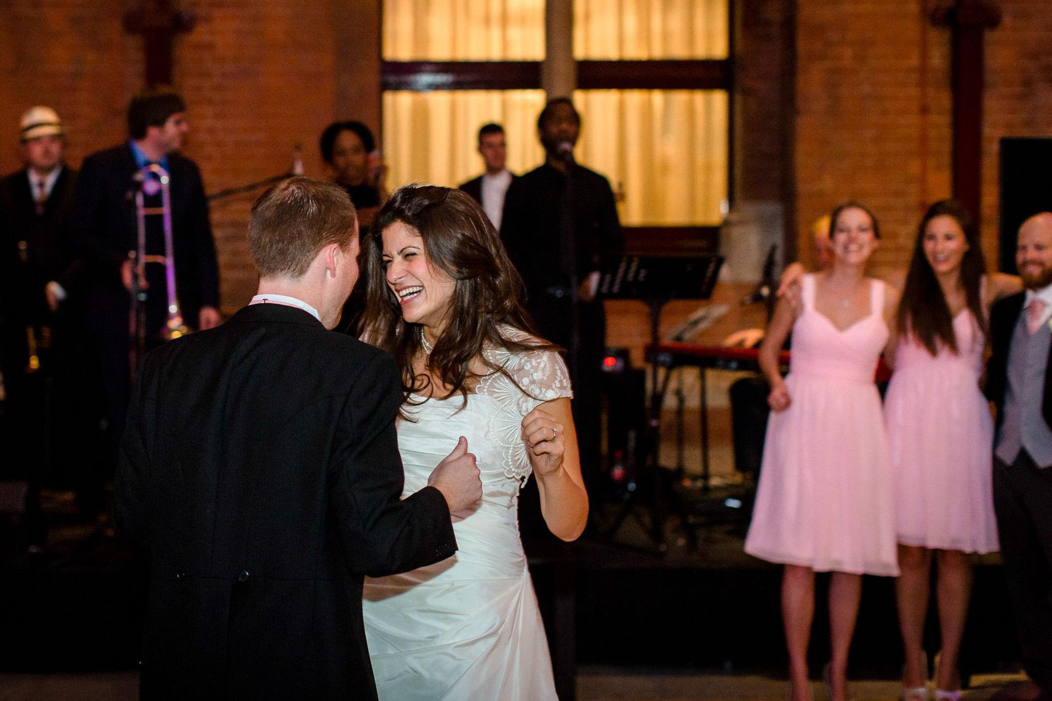 St. Pancras hotel wedding first dance