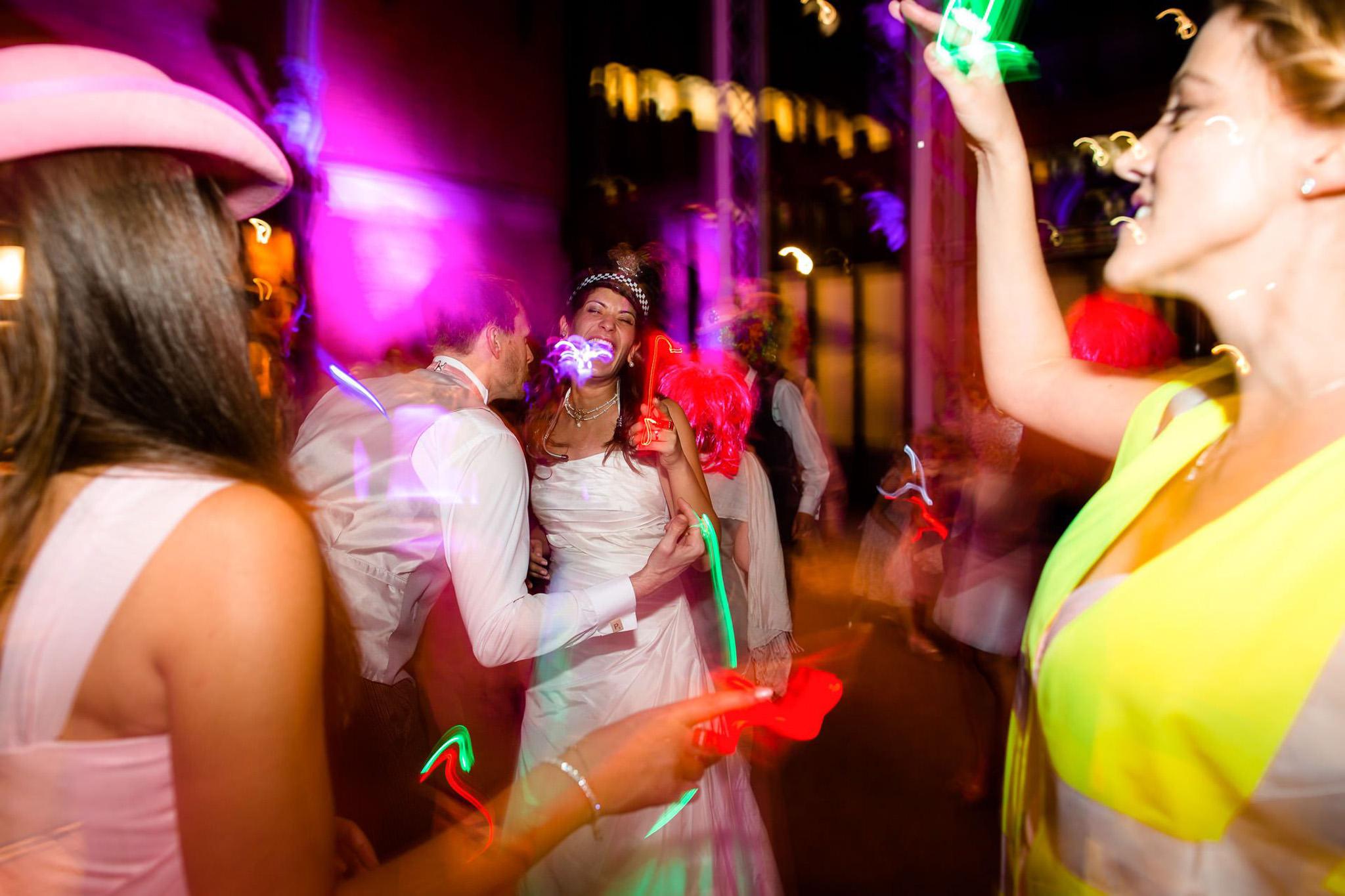 St. Pancras hotel wedding fancy dress party