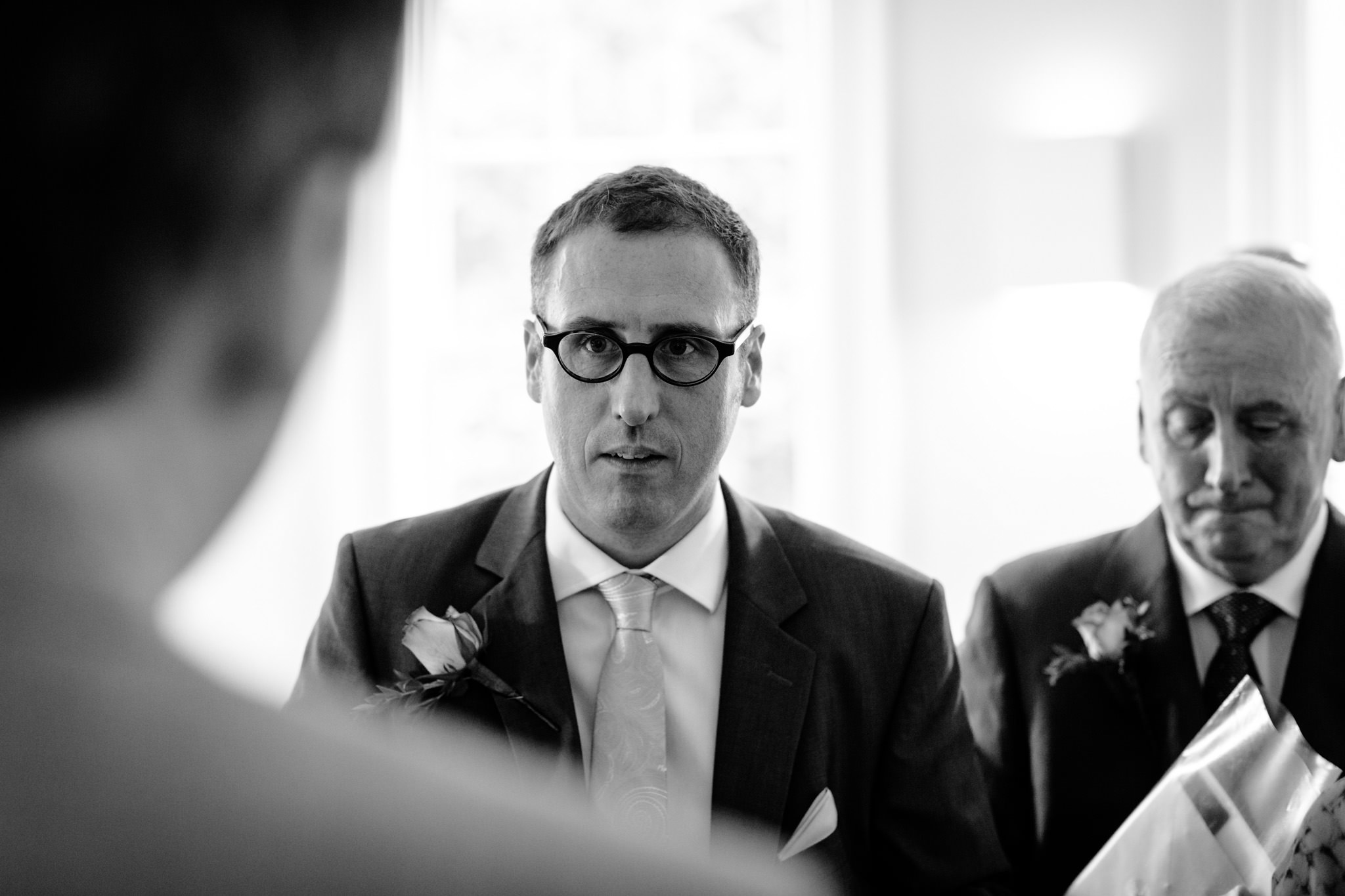 Clissold House wedding guests