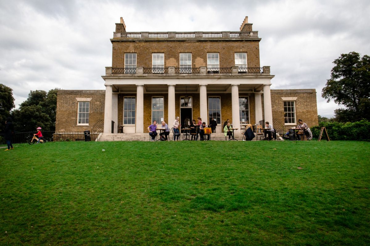 Clissold House wedding venue building